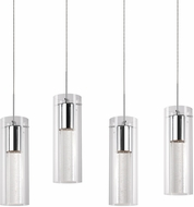 Kuzco PD4404-CH Champagne Modern Chrome LED Multi Ceiling Light Pendant