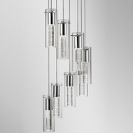Kuzco PD4408-CH Chrome LED Multi Pendant Light