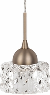 Kuzco PD56404-VB Malt Modern Vintage Brass LED Mini Pendant Lighting