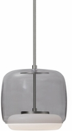 Kuzco PD70610-SM-BN Enkel Contemporary Smoked / Brushed Nickel LED Mini Pendant Lighting Fixture