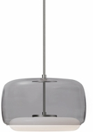 Kuzco PD70615-SM-BN Enkel Contemporary Smoked / Brushed Nickel LED Hanging Pendant Light