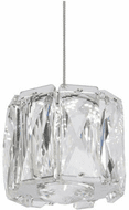 Kuzco PD7801-(3000K) Solaris Chrome Mini Hanging Lamp