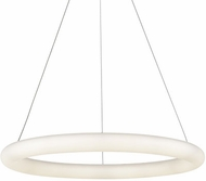 Kuzco PD80324-WH Cumulus Minor Contemporary White LED 24  Drop Lighting