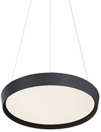 Kuzco PD81316-BK Union Contemporary Black LED 16  Ceiling Light Pendant