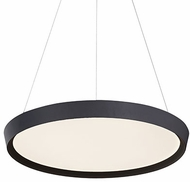 Kuzco PD81324-BK Union Contemporary Black LED 23.5  Drop Ceiling Light Fixture