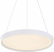 Kuzco PD81324-WH Union Modern White LED 23.5  Drop Lighting Fixture