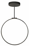 Kuzco PD82524-BK Cirque Contemporary Black LED 24  Pendant Lighting