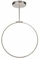 Kuzco PD82524-BN Cirque Modern Brushed Nickel LED 24  Pendant Light