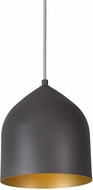 Kuzco PD9108-GH-GD Helena Modern Graphite with Gold LED Mini Pendant Lighting