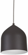 Kuzco PD9108-GH-SV Helena Contemporary Graphite with Silver LED Mini Pendant Light