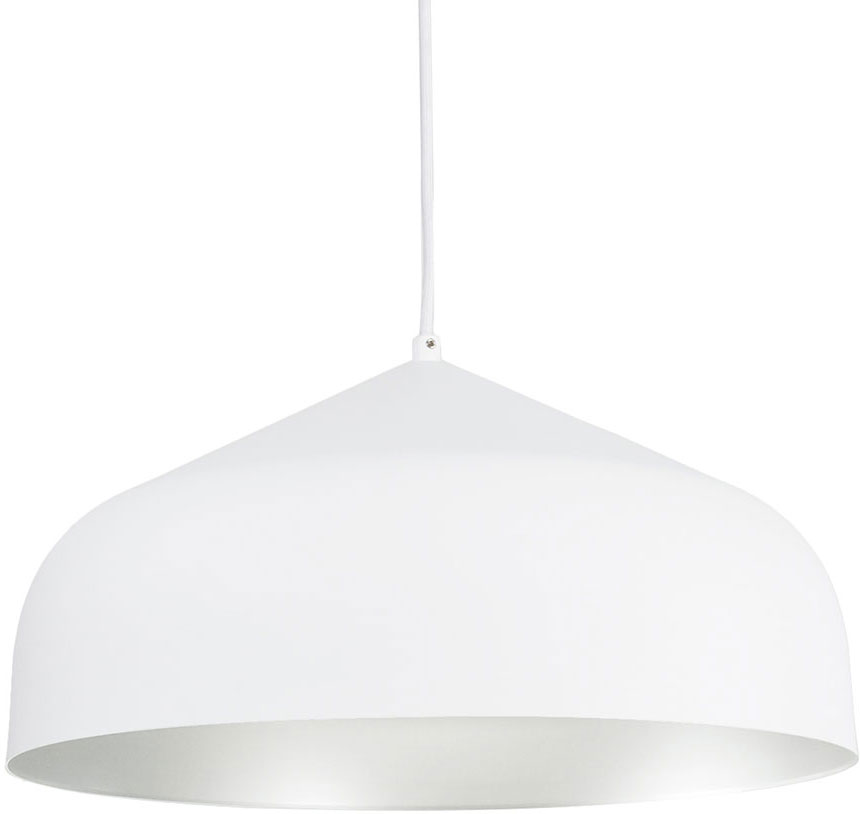kuzco pd9117 wh sv helena contemporary white with silver led drop ceiling lighting loading zoom - Led Drop Ceiling Lights