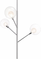 Kuzco PD91403-CH-00 Sprout Modern Chrome LED Hanging Chandelier