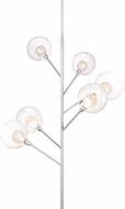 Kuzco PD91406-WH-00 Sprout Contemporary White LED Chandelier Light
