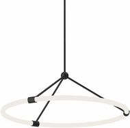 Kuzco PD99126-BK Santino Contemporary Black LED Drop Lighting Fixture