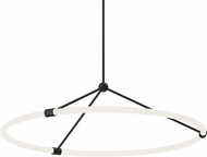 Kuzco PD99133-BK Santino Contemporary Black LED Lighting Pendant