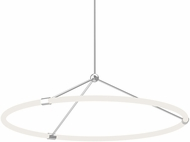 Kuzco PD99133-CH Santino Contemporary Chrome LED Pendant Lamp