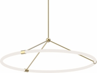 Kuzco PD99133-NB Santino Modern Natural Brass LED Hanging Lamp