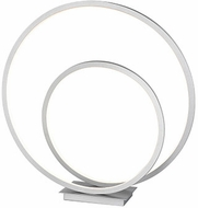 Kuzco TL11119-AS Twist Contemporary Antique Silver LED Table Light