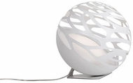 Kuzco TL2507-WH Neptune Contemporary White LED Accent Table Lamp