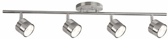 Kuzco TR10031-BN Modern Brushed Nickel LED 4-Light Track Light