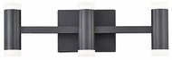 Kuzco VL16720-BK Brazen Modern Black LED 3-Light Lighting For Bathroom