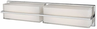 Kuzco VL2424-CH Chrome LED 2-Light Vanity Light