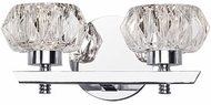 Kuzco VL54210-CH Basin Chrome LED 2-Light Bath Lighting