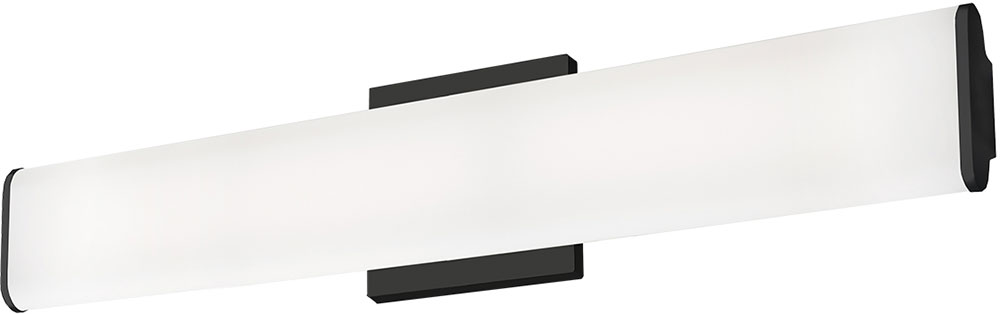 Kuzco VL60224 BK Ferguson Modern Black LED 24u0026nbsp; Bathroom Vanity Light  Fixture. Loading Zoom