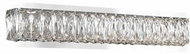 Kuzco VL7824-(3000K) Solaris Chrome Vanity Light
