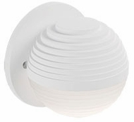 Kuzco WS10501-WH Supernova Contemporary White LED Wall Sconce Lighting