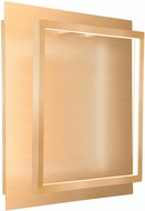 Kuzco WS16114-SG Mondrian Contemporary Soft Gold LED Wall Lighting Sconce