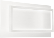 Kuzco WS16116-WH Mondrian Modern White LED Wall Lighting Fixture