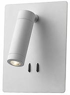 Kuzco WS16806-WH Dorchester Contemporary White LED Wall Sconce Lighting