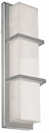 Kuzco WS2418-BN Contemporary Brushed Nickel LED Wall Light Sconce