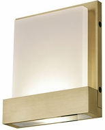 Kuzco WS33407-BB Guide Contemporary Brushed Brass LED Light Sconce