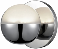 Kuzco WS47305-CH Pluto Modern Chrome LED Lighting Sconce