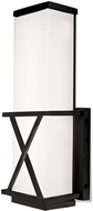 Kuzco WS7012-BK X-Calibur Modern Black LED Wall Sconce Lighting
