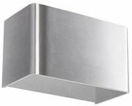 Kuzco WS7405-BN Contemporary Brushed Nickel LED Wall Light Sconce
