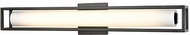 Kuzco WS83427-BK Lochwood Modern Black LED 27  Bathroom Light Sconce
