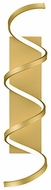 Kuzco WS93730-AN Synergy Contemporary Antique Brass LED Wall Sconce Light
