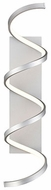 Kuzco WS93730-AS Synergy Modern Antique Silver LED Wall Sconce