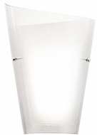 Kuzco WS99013L-CL Calla Contemporary Clear LED Wall Lamp