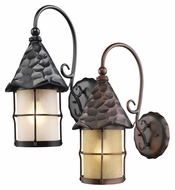 ELK 385 Rustica Large Exterior 19 Inch Tall Wall Lighting Fixture