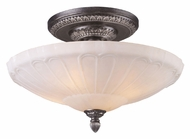 ELK 66093-4 Restoration Flushes Traditional 20 Inch Diameter Semi Flush Lighting Fixture