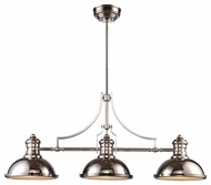 ELK 661153 Chadwick Vintage Kitchen Island Light in Polished Nickel