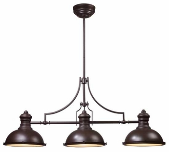 ELK 661353 Chadwick Vintage Kitchen Island Light in Oiled Bronze