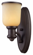 ELK 66170-1 Brooksdale 13 Inch Tall Transitional Oiled Bronze Light Sconce