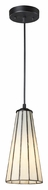 ELK 70000-1CW Lumino Comet White Mini 12 Inch Tall Bar Lighting Fixture