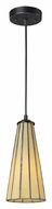 ELK 70000-1HB Lumino Mini 5 Inch Diameter Hazy Beige Hanging Light - Modern