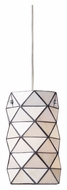 ELK 72021-1 Tetra Contemporary Polished Chrome Mini Lighting Pendant